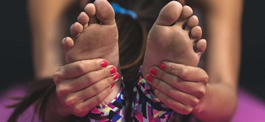 שיעור לכף רגל כואבת